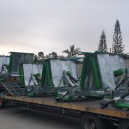 Agrifarm APM/361 mowers on their way to Councils